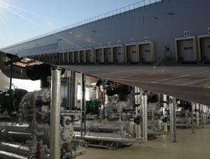 HAUSER energy optimization in a logistics center